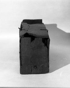 Oseberg 178 chest - Museum photo