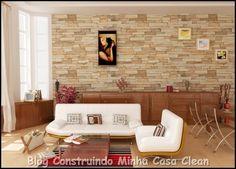 Construindo Minha Casa Clean: Papel de Parede na Decoração! Confira as Dicas!!!