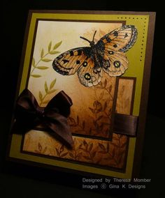 """My """"It's Not a Butterfly"""" Card by TheresaCC - Cards and Paper Crafts at Splitcoaststampers"""
