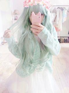 33 Ideas For Dress Cute Kawaii Pastel Goth Pastel Fashion, Kawaii Fashion, Lolita Fashion, Harajuku Fashion, Harajuku Japan, Fashion Fashion, Fashion Shoes, Kawaii Hairstyles, Trendy Hairstyles