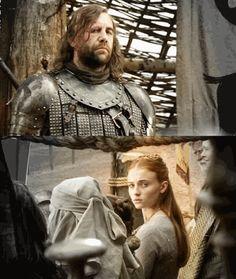 Can't get enough of Sansa & Sandor