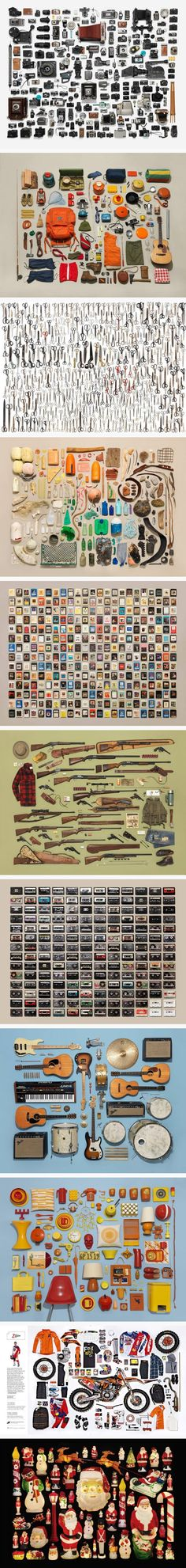 Collections Organized in Shocking Abundance by photographer Jim Golden and Kristin Lane
