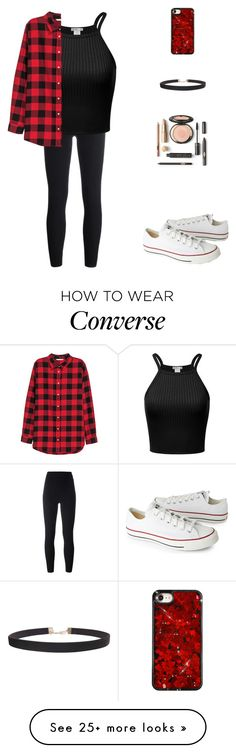 """My fashion today "" by hanin-elsamad on Polyvore featuring adidas Originals, H&M, Converse and Humble Chic"