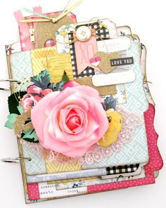 April release from Paisleys and Polka Dots. Beautiful mini album kit designed using the Maggie Holmes Bloom collection from Crate Paper. This would make a great mothers day gift.