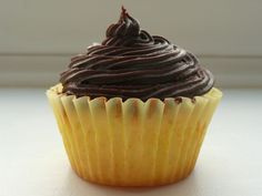My favourite - gluten free lemon cupcakes. Gluten Free Baking, Gluten Free Recipes, Lemon Cupcakes, Chocolate Icing, Meals For One, Free Food, Real Life, My Favorite Things, Easy