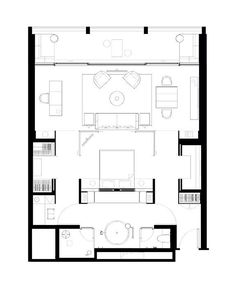 The PuShang Hotel and Spa, Xiamen Marina Deluxe Suite Suite Room Hotel, Hotel Bedroom Design, Modern Bedroom Design, Hotel Suites, Hotel Spa, Bedroom Suites, Hotel Floor Plan, Casa Patio, Room Planning