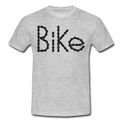 Für jede Bike Liebhaber, Bike in Kettengliedern geschrieben.