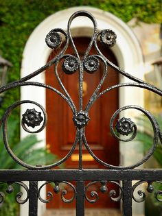 I love gardens and the designs on the gates that lead to the beautiful flowers and plants are just as fabulous!