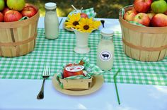 Such a cute child's farm-themed bday party!  (Perhaps also for a fun brunch?)