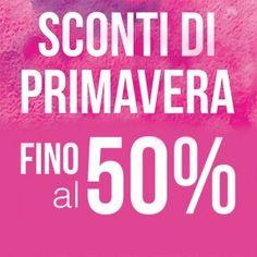 Sconti fino al 50% fino al 2 giugno 2015 per gli iscritti al programma #Infamily. #shopping #cavalca #arcisate #varese