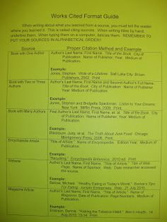 My Adventures Teaching Junior High English: Quotations, Paraphrasing, Summarizing, and MLA source formatting