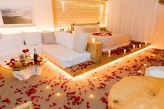 The romantic hotel room decoration in 1 hotel miami - Romantic decorations for hotel rooms ...
