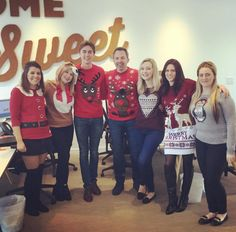 Christmas Jumper Day @ Keatons Shoreditch office