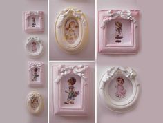 Plan the Day Sarah Kay, Holly Hobbie, Shabby, Favor Boxes, Christening, Favors, Arts And Crafts, Frame, Artemis