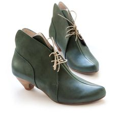 Sue Green Ankle Boots designers handmade shoes