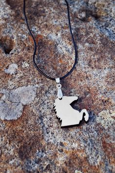 "Horse necklace, ""Foli"" wooden necklace by EYELOVE HORSES $41"