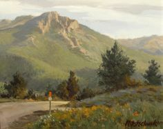 Mountain Road by John Pototschnik