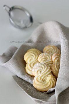 Pasqualina in cucina: Biscotti viennesi Etoile BUONISSIMI!!!!!!!!!!!!!!!!!!