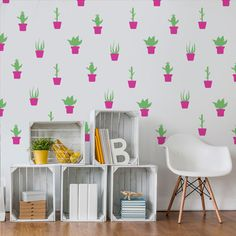Adesivos Cactus e Suculentas - Mode Deco  Nossos Adesivos Decorativos são uma opção rápida e com um ótimo custo-benefício para quem quer dar um upgrade na decoração de qualquer ambiente.  decoração, diy, decor, ideias, home office, escritorio, quarto, quarto de casal, quarto infantil, adesivos, adesivos decorativos, parede, decorando, decorando facil, fashion,  papel de parede, cactus