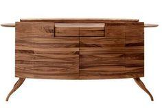 Commode en bois de noyer par Francoceccotti