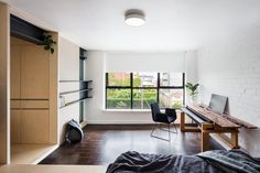 A 1950s Micro Apartment Is Renovated for Modern Times - Design Milk