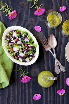 Mexican Inspired Black Bean Salad with Cilantro Jalapeno Vinaigrette  - CaliZona