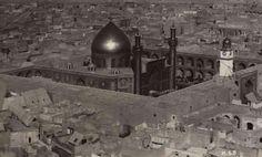 إطلالة جميلة على مرقد الإمام علي عليه السلام عام 1927