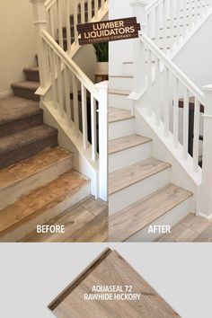 There's nothing easy about renovations, but when they go right, they're so worth it! Start your remodel with floors from LL flooring. Staircase Remodel, Home Upgrades, Basement Remodeling, Bathroom Remodeling, My New Room, My Dream Home, Home Renovation, Future House, Home Projects