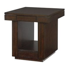 Hammary Furniture - High Point, NC - UPTOWN :: TWO DRAWER END TABLE  253-916 (2)