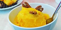 Forget about conventional ice cream, this homemade instant mango ice cream is so easy to make and you will definitely be craving it again. You can make it any flavor you want; all you need is a frozen bag of fruits or berries of your choice.