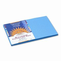 SunWorks Construction Paper Heavyweight 12 x 18 50 Sheets Blue Set of 2 >>> Click on the image for additional details.-It is an affiliate link to Amazon. #DrawingPaintingSupplies