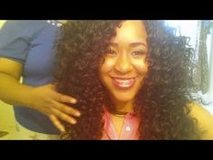 PROTECTIVE STYLE: LATCH HOOK/CROCHET  HAIR TUTORIAL WITH FREETRESS GOGO HAIR