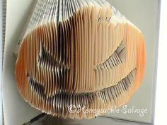 Halloween Pumpkin Decoration Book Origami by HoneysuckleOrigami, $115.00