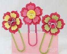 Fun Flowers Bookmarks