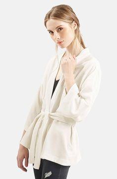 Topshop Belted Kimono Jacket