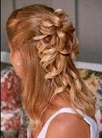 Image detail for -To achieve this half up half down prom hairstyle pulled out your ...