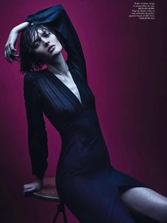 Irresistibles | Vogue Paris February 2014 Mario Sorrenti shoots Amanda Murphy, Vanessa Axente, Andreea Diaconu, Sam Rollinson and Tanya Katysheva
