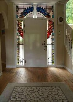 Stained Glass - Stephen Weir Stained glass, Glasgow, Scotland my future front door Stained Glass Door, Stained Glass Designs, Stained Glass Projects, Stained Glass Patterns, Leaded Glass, Mosaic Glass, Mosaic Mirrors, Mosaic Wall, Cool Doors