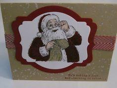 Stampin' Up Santa's List