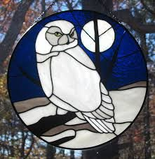 Image result for stained glass owl