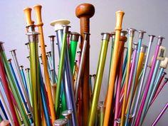 addicted to knitting needles