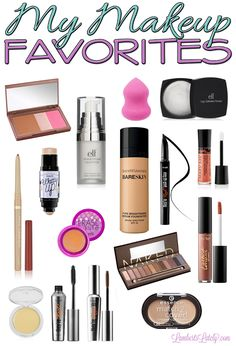 Great collection of everyday makeup products, from high-end to drug store!
