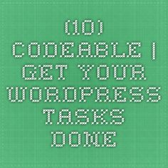 Codeable   get your WordPress tasks done