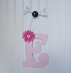 Wall Letters Nursery  Wall Decor Wooden Letters by fabbdesigns, $13.00