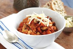 Slow Cooker Mushroom Chili ---    This veggie-loaded chili is so hearty that even meat lovers will ask for seconds. To freeze it, cook as directed, but don't add the mushrooms. Cook them separately and add to the chili after reheating it. Serve with crusty bread to soak up every bit of sauce.