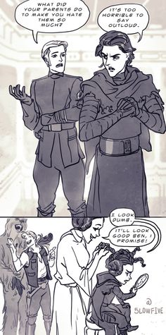 Why Kylo Ren Hates His Parents by 5LowFive on DeviantArt