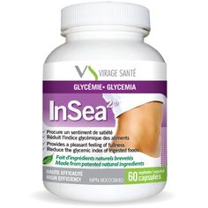 INSEA2®: The connection between balancing weight and glycemia is now an established fact. Meals rich in carbohydrates overstimulate the pancreas, thus leading to a glycemia disorder. By allowing slower blood-glucose response, InSea2® provides a faster sensation of fullness and helps in reducing the glycemic peak that results from meals rich in carbohydrates.