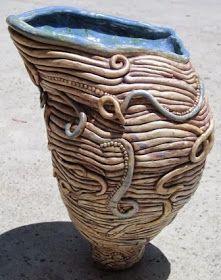ARTISUN: Contoured Coil Pots - Student Work