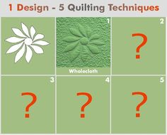 Geta's Quilting Studio: How to Make Wholecloth Quilts - Tutorial