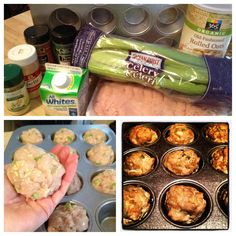 Turkey Meatballs: garlic, cumin, thyme, dry yellow mustard, pepper, celery, onion, oats, egg whites at 375 for 40 min.